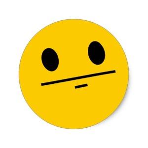 Blank Stare Emoji